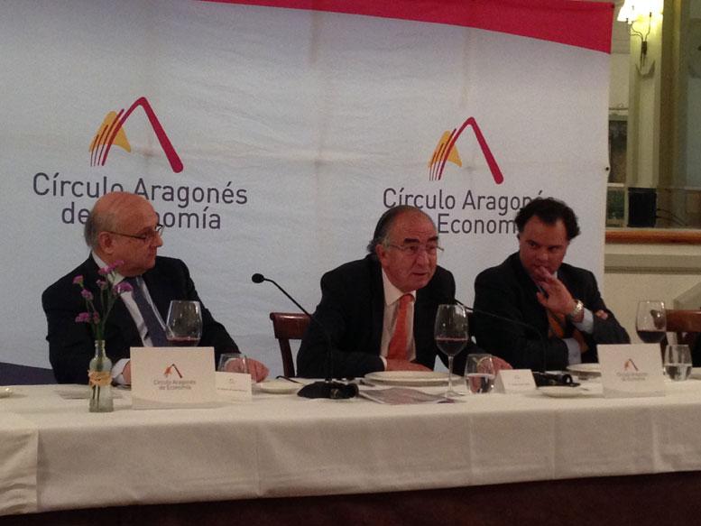 Honorio Romero, Amado Franco Lahoz y Fernando de Yarza.